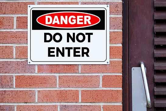 Danger-Don't-Enter-